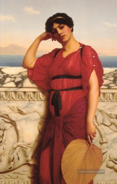 klassische Kunst - Klassische Dame Neoclassicist Dame John William Godward